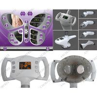 Two Ultracavitation applicators with 25W maximum working same time in one handle for cellulite remov