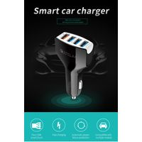 Multi-ports car charger Quick Charger 3.0 USB Car charger Fast Charge 4USB Car Adapter mobile phone thumbnail image