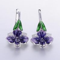 Enamel Earring gorgeous jewelry new fashion the factory direct sales