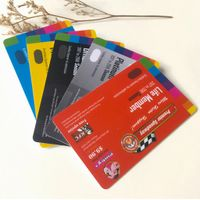 Personalised PVC Plastic barcode customized printed loyalty gift pvc card