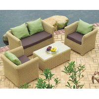 poly rattan sofa sets
