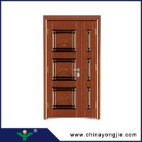 Yujie china modern security steel entrance doors and windows Quality Assured thumbnail image