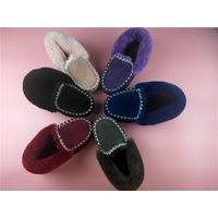 2015women's genuine sheepskin snow boot Australian merino winter shoes