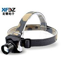 Headlight glare charge outdoor genuine long-range zoom Q5 LED headlamp fishing night fishing fishing