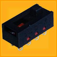 10A slide switch for hair drier/vacuum cleaner