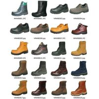 safety shoes (leather boots, work boots, safety boots, fashion boots, waterproof boots, working shoe thumbnail image