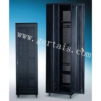 19inch Luxury network cabinet with double perforated door