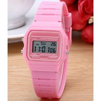 Digital fashion watch silicone watch wrist pocket watches