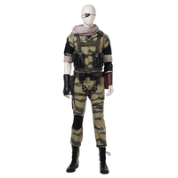 Hot game Metal Gear Solid 5 the phantom pain MGS Snake cosplay costume