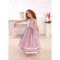 2014 NEW Lilac color dresses with tulle thumbnail image