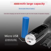 USB portable Rechargeable Wireless Automatic Hair Curler Rotating Curling Irons thumbnail image