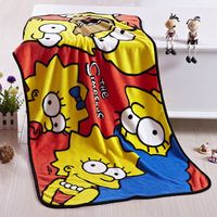 2015 New Pattern Wholesale 100%Polyester Printed Polar Fleece Blanket