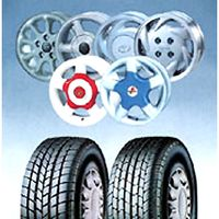 Tires & Auto Wheels (Alloy Rims)
