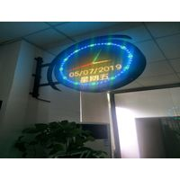 P6 double-side led sign