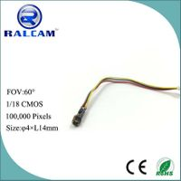 90 degree range view 1/18 cmos sensor small camera module for medical