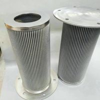 Stainless steel pleated filter elements sintered metal filter cartridge thumbnail image
