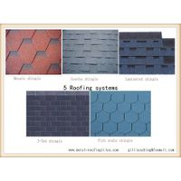 different types of asphalt shingle