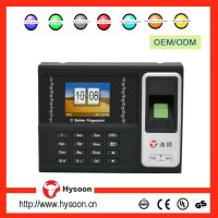 Hot Selling High Quality Black and White Color TCP/IP interface Wifi Function C7 Hysoon Fingerprint