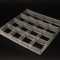 Black or Galvanized Welded Wire Mesh Panel