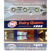 SMD waterproof led injection module for sign and signage
