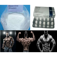 99% High Purity Mesterolone powder Proviron raw powder for muscle building raw steroid powder