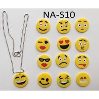 emoji bead necklace,novelty necklace,new necklace