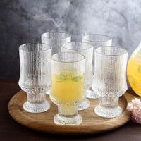Thick stem whisky glasses