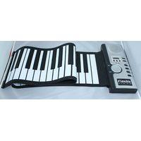 61 Keys Flexible Hand Roll Piano – It's a 61 Soft Keyboard Piano thumbnail image
