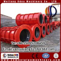 Pipe Production Line Type and Drain Pipe Application concrete pipe machine