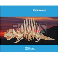 Dimetrodon-3D wooden puzzles, wooden construction kit,3d wooden models, 3d puzzle