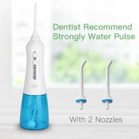 Cordless Water Flosser Teeth Cleaner Rechargeable Portable irrigator oral For Travel and home use