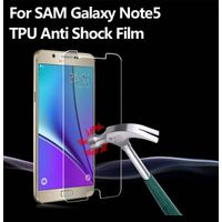 Clear anti shock screen protector for Samsung galaxy note 5