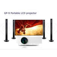 Mini LED Projector HDMI 1080P HD Portable LCD technology AV, USB, VGA, SD, support 3D movie
