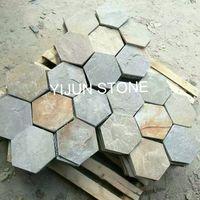YIJUN STONE/ Hexagon natural stone/ Paving stone thumbnail image