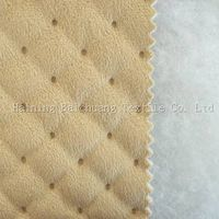 bonded suede fabric