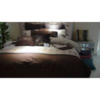 middle east market king size embroidery bedding set