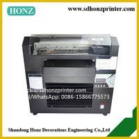 digital advertising eco solvent flatbed printer HZ-A3-8C thumbnail image