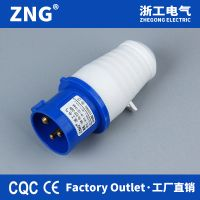 IP44Splashproof 16A3P Industrial Plug, IEC60309 Electrical Plug 16A 2P+PE