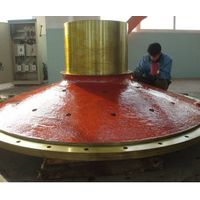Casting ball mill shell Ball mill head  ball mill end cap