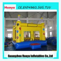 air bouncer inflatable trampoline thumbnail image