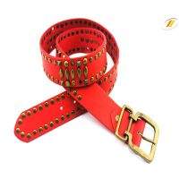 Fashion Rivet Genuine Leather Belts