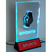 led watch display. with led lights