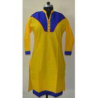 Ethnic-Indian-designer-Cotton-Printed-Kurta-Top-Top Tunic Bust 36-40 Design thumbnail image