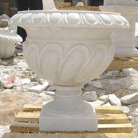 Marble Sculpture Granite Flowerpot Sculpture