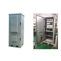 DDTE011 Outdoor Integrated Telecom Cabinet, The Upper Part Is Equipment Compartment,The Lower Part I