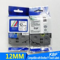 Best seller Compatible Brother label tape 12mm black on white tze-231 thumbnail image