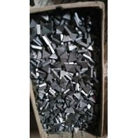 Brand new tungsten carbide tipped circular saw blade, carbide tipped drill bit, carbide tips scrap