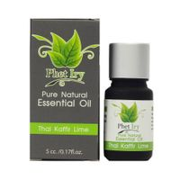 Pure, natural essential oil Thai Kaffir Lime Leaf