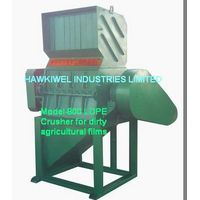 crusher for PET Bottles/PE/PP/PS/PVC/ABS films/plastics thumbnail image