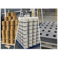 Corrugated plastic layer pads